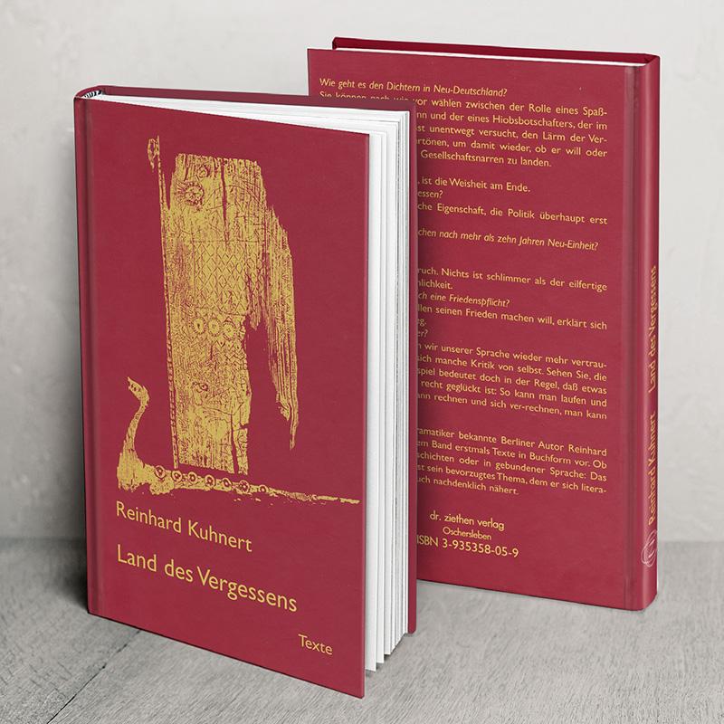 Buch Land des Vergessens von Reinhard Kuhnert