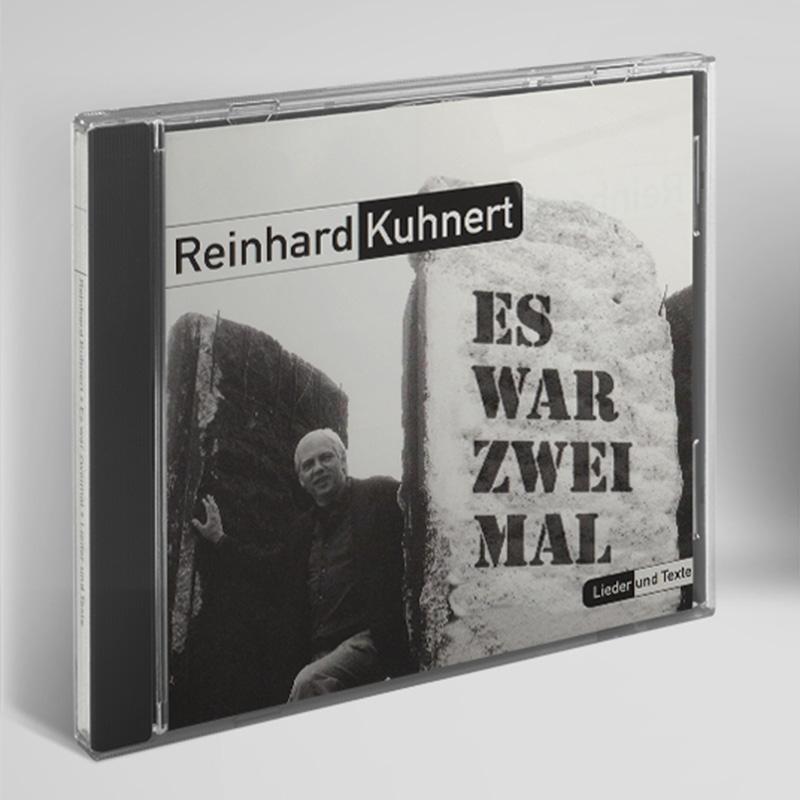 """CD """"Es war zweimal"""" - Lieder und Texte von Reinhard Kuhnert"""