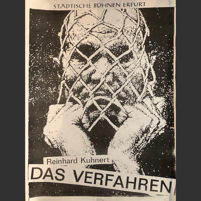 "Plakat ""Das Verfahren"""