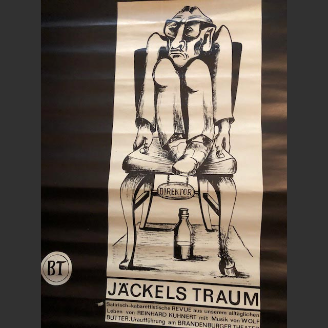 "Plakat ""Jäckels Traum"""