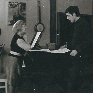 Reinhard Kuhnert Chansonunterricht bei Fania Fénelon - Paris