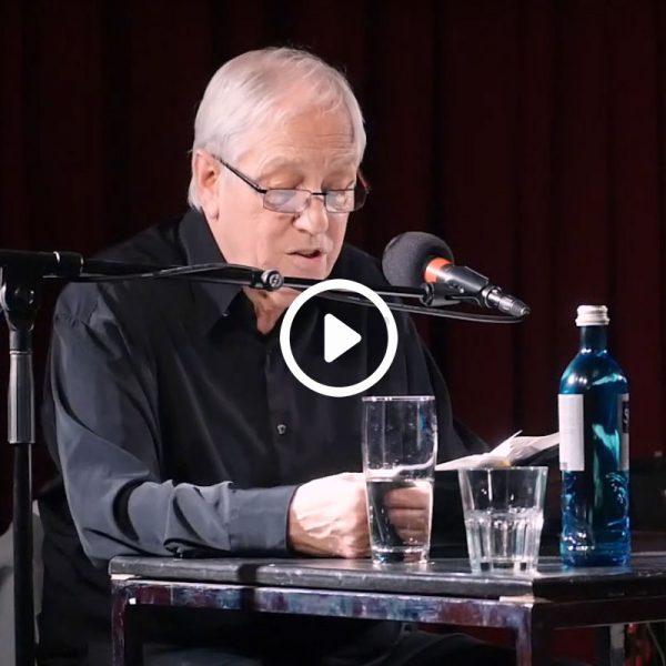 """Reinhard Kuhnert - Lesung seines Romans """"In Fremder Nähe"""", Roter Salon Volksbühne Berlin 2019"""