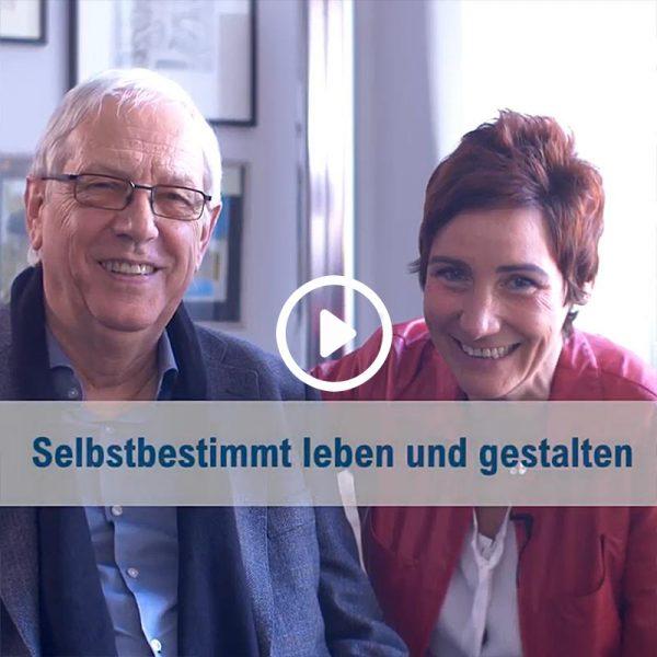 """Selbstbestimmt leben und gestalten - Reinhard Kuhnert im Gespräch mit Angela Elis bei """"Wertvoll"""""""